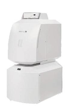 JUNKERS SUPRAPUR-O KUB 35 con regulación EMS, con sonda de acs y acumulador SL300-3E caldera de gasoleo presurizada de pie de 36,3 Kw de condensación. (caldera de gasóleo condensación estanca)