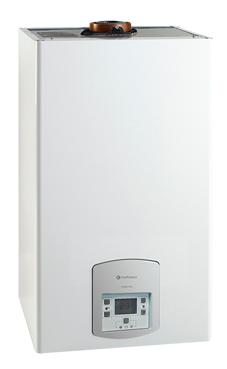 CHAFFOTEAUX-MAURY PIGMA NOX 28 FF  de 28,1 KW con placa de conexiones y kit salida de humos. (caldera de gas natural mural mixta estanca de bajo nox. Clase 5)
