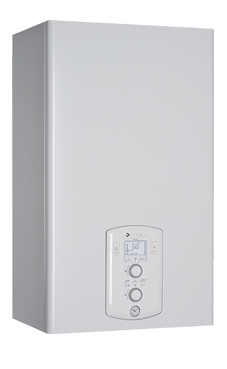 CHAFFOTEAUX-MAURY PIGMA 25 FF  con microacumulación con display digital y función confort programable de 25,8 KW con placa de conexiones y kit salida de humos. (caldera de gas propano mural estanca mixta)