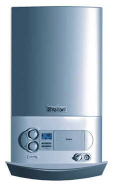 VAILLANT TURBO TEC PLUS de 32/36 KW  (VMW ES 32/362/3-5) con plantilla y kit evac. (caldera de gas natural mural estanca mixta)