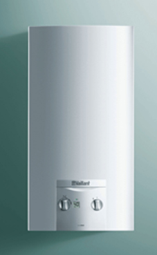 VAILLANT Turbomag ES 17-2/0 E con kit de evacuación. (calentador de gas natural estanco)