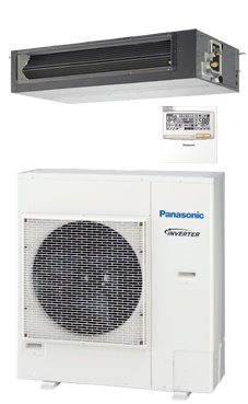 PANASONIC Conducto de alta presión PACi ELITE inverter+ KIT-100PF1E8A