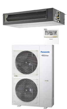 PANASONIC Conducto de alta presión PACi ELITE inverter+ KIT-140PF1E8A