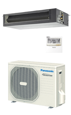 PANASONIC Conducto de alta presión PACi ELITE inverter+ KIT-50PF1E5A
