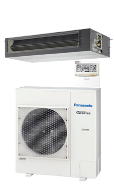 PANASONIC Conducto de baja silueta PACi ELITE inverter+ KIT-125PN1E5A
