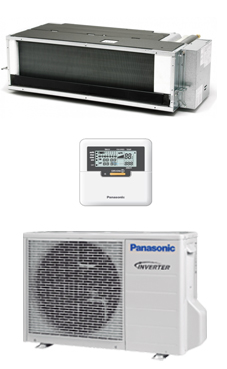 PANASONIC KIT E9-PD3EA conducto de baja silueta inverter